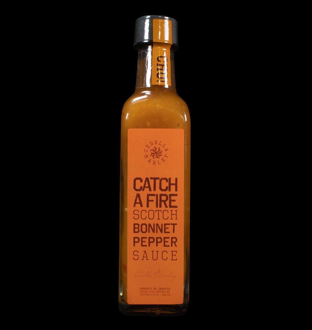 Catch a Fire Scotch Bonnet Pepper Sauce