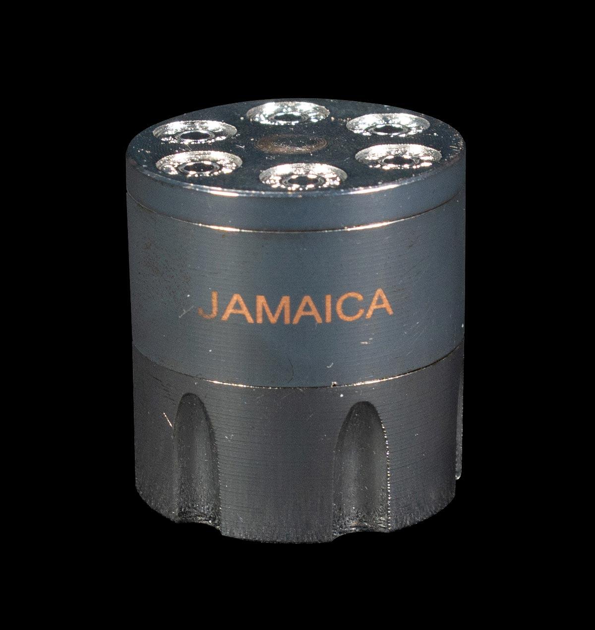 Metal Jamaica Gun Barrel Ginder