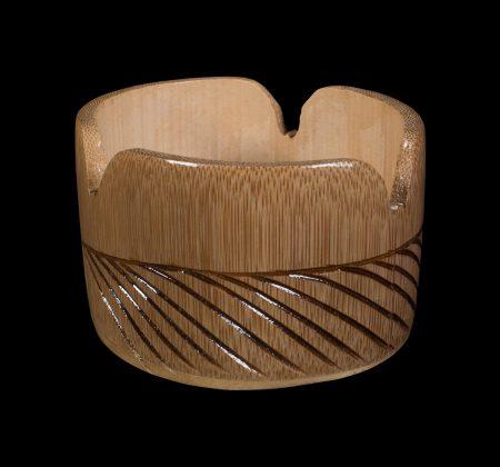 Wooden Round Ashtray